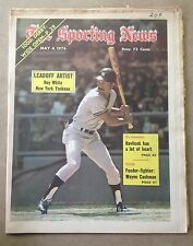 The Sporting News: Roy White LEADOFF ARTIST New York Yankees May 4,1974