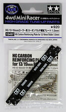 Tamiya 15497 Mini 4WD Carbon Reinforcing Plate for 13/19mm Roller (1.5mm)