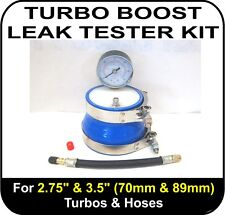 "Audi RS4 TURBO BOOST LEAK TESTER Fits 2.75"" & 3.5"" (70 & 89mm) Turbos Pipes Hose"