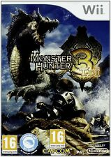 Monster Hunter 3 Tri Nintendo Wii PAL Brand New