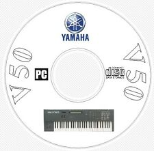 Yamaha V50 Sound Library, Manual, MIDI Software & Editors CD - V 50