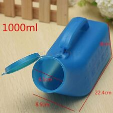 Portable Camping Travel Car Toilet Male Mens Urine Urinal Bottle Pee With Lid