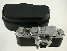 Originale Leica Leitz Borsa Case Astuccio LEATHER PELLE IIIF IIF IIIC IIC if (7)