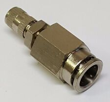 """3/8"""" Schrader Air Suspension Inflation Fill Valve Push to Connect  Fitting  bags"""