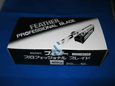 FEATHER Artist Club Professional blade PB-20 10 packs 200 blades New