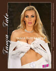 8 x 10 Tanya Tate Cosplay White Superhero Outfit Print Signed For You
