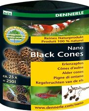 Dennerle Nano Black Alder Cones for Cherry Crystal Tiger Shrimp