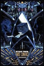 Kilian Eng - Star Trek: First Contact - Movie Print Poster TNG MINT not Mondo