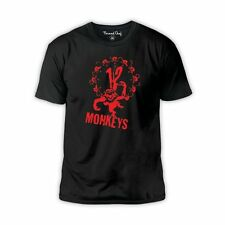 12 Monkeys film Bruce Willis Brad Pitt cult movie t-shirt all sizes & colours