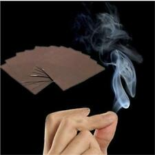 Interesting Mystic cool finger Smoke Trick Close-up Stand-up smoking fun paper ]