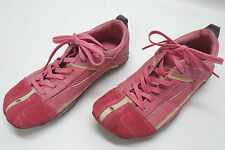 DIESEL KIMURA PINK SUEDE & LEATHER SHOES WOMENS SIZE 9US/7UK/40EU - EUC