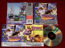 *Complete & Excellent* PS1 Game SPYRO 3 - YEAR OF THE DRAGON PAL PlayStation