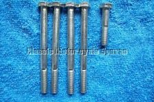 Bsa a7/a10 Rockerbox perno de montaje conjunto CEI 26tpi (5 Piezas) cinc plateado Pernos