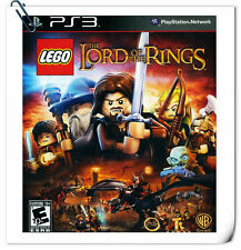 PS3 Sony Playstation Games LEGO Lord of the Rings Action Warner Home Video