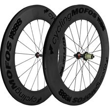 cyclingMOFOS MOFO88 Full Carbon Fiber Clincher Wheelset 88x25mm Shimano/SRAM NEW