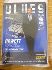 04/11/2014 Birmingham City v Watford [Gary Rowetts 1st Home Game As Manager] . T