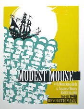 "MODEST MOUSE: Show Poster, Special Edition Silk Print 18""x24"" - MINT"
