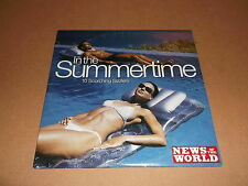 "V/A "" IN THE SUMMERTIME "" NEWS OF THE WORLD PROMO CD - UK FREEPOST"