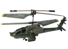 Syma S109G Apache AH-64 3CH Mini Indoor Helicopter - Retail Box
