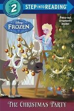 NEW - The Christmas Party (Disney Frozen) (Step into Reading) w/ ornaments