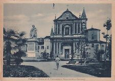 FAENZA - Chiesa di S. Francesco e Monumento a Torricelli