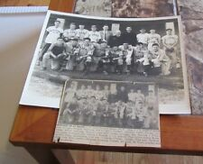 1940's St. James CYO Arlington Heights Massachusetts Baseball Team Photo + Names