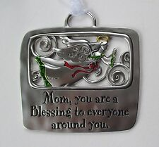 VD Mom you are a blessing to everyone Tidings CHRISTMAS ORNAMENT Ganz