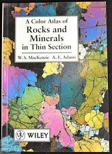 A Colour Atlas of Rocks and Minerals in Thin Sections, W S MacKenzie, Adams, B12
