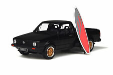 1/18 Otto GT Spirit Volkswagen Golf Caddy with Surf Board in Black OT665