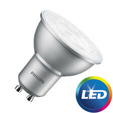 Pack 10 Philips Master valor 4.3 w = 50w Led Regulable GU10 Bulbo blanco frío 840