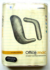 Microsoft Office 2004: MAC Student Teacher Edition-3 Keys-WORD POWERPOINT EXCEL