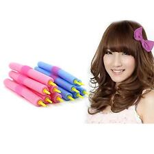 12Pcs Soft Foam Curlers Makers Twist Curls Tool DIY Styling Hair Care Rollers