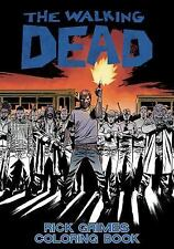 The Walking Dead: Rick Grimes Adult Coloring Book by Robert Kirkman (2016,...