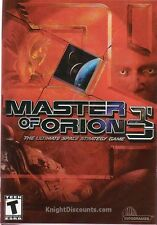 MASTER OF ORION 3 III Space Strategy PC Game NEW XP BOX
