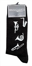 Brass Instrument Socks - Music Themed Gift - Musical Socks - Gift for Student