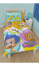 BUBBLE Guppies Splash Singolo Pannello Set Copripiumino Bambini Reversibile Regalo/libero INTER