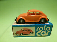 ROTO CAR CSSR VW VOLKSWAGEN  ORANGE * copy of DUX * - RARE SELTEN- GOOD IN BOX
