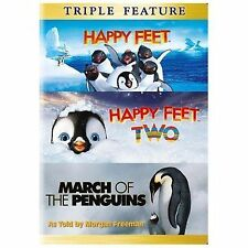 Happy Feet / Happy Feet 2 / March of the Penguins, New DVDs