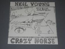 NEIL YOUNG w/ Crazy Horse  Zuma LP New Sealed Vinyl