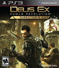 Deus Ex Human Revolution Directors Cut PS3 Sony Playstation 3 Brand New Sealed