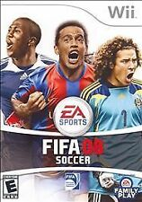 FIFA Soccer 08  (Nintendo Wii, 2007) - Complete