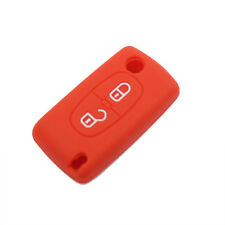 1pcs Red 2 Button Silicone Car Key Cover For Citroen C2 C3 C6 C8 Xsara Picasso