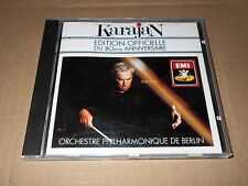 KARAJAN/80th ANNIVERSARY/SCHUBERT/STRAUSS/MASSENET/RAVEL/WAGNER/SIBELIUS/CD EMI
