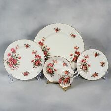 "4 SETS OF ROYAL ALBERT ""CENTENNIAL ROSE"" 5 PIECE PLACE SETTINGS - 20 PIECES"