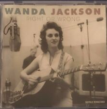 Wanda Jackson Right or Wrong Rock-A-Billy VGC