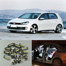 13pcs white Decoder canbus Interior LED light kit for VW Golf6 MK6 GTI 2010-2015