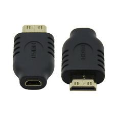 Type D Micro HDMI Socket Female to Type-C Mini HDMI 1.4 Male Convertor Adapter