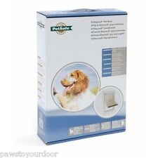 Staywell Petsafe 620 Aluminium medium dog pet door cat flap white catflap
