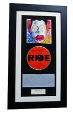 RIDE Going Blank Again LTD CLASSIC CD TOP QUALITY FRAMED+EXPRESS GLOBAL SHIPPING