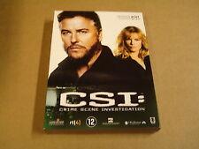 3-DISC DVD BOX / CSI:CRIME SCENE INVESTIGATION - SEIZOEN 8- AFLEVERING 8.9- 8.17